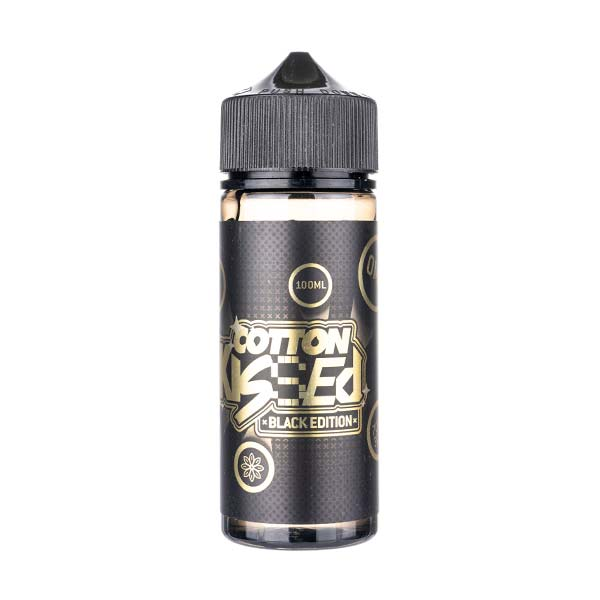 Black Edition 100ml Shortfill E-Liquid by Cotton Kissed