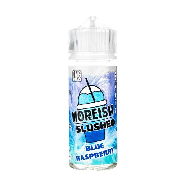 Blue Raspberry Slushed Shortfill E-Liquid by Moreish Puff