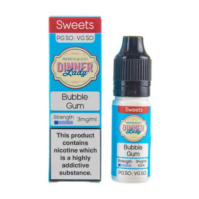 Bubblegum 50/50 E-Liquid by Dinner Lady