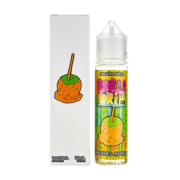Caramel Apple Shortfill E-Liquid by Lollidrip