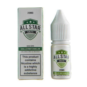 Chilled Watermelon Nic Salt E-Liquid by All Star