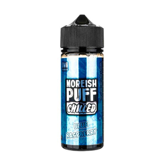 Chilled Blue Raspberry Shortfill E-Liquid by Moreish Puff