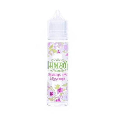 Cranberry, Apple and Raspberry Shortfill E-Liquid by Ohm Boy