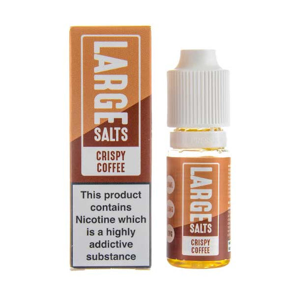 Crispy Coffee Nic Salt E-Liquid by Large Juices