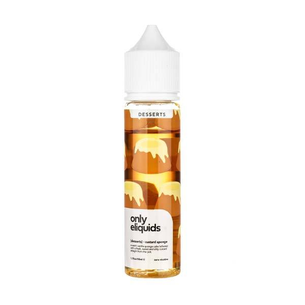 Custard Sponge Shortfill E-Liquid by Only eLiquids