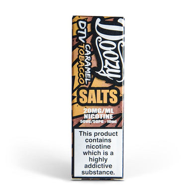 Doozy Caramel Tobacco 10ml Nic Salt E-Liquid