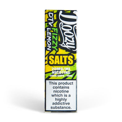 Doozy Fizzy Lemon 10ml Nic Salt E-Liquid
