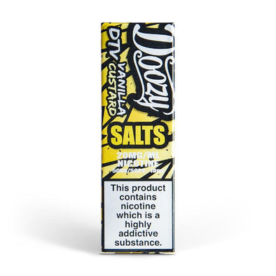 Doozy Vanilla Custard 10ml Nic Salt E-Liquid