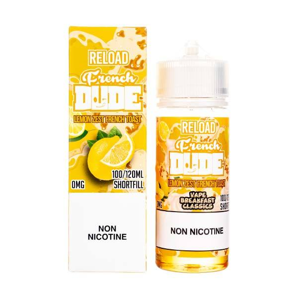 French Dude Reload 100ml Shortfill E-Liquid by Vape Breakfast Classics