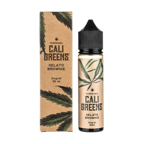 Gelato Brownie Shortfill E-Liquid by Cali Greens