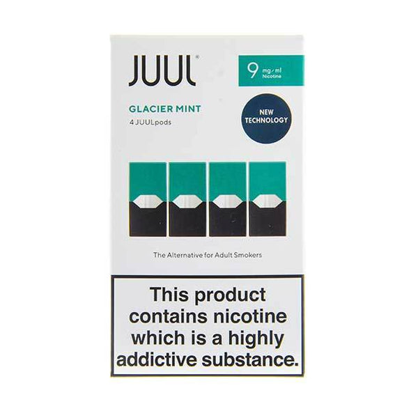 Glacier Mint 9mg UK V2 Juul Pods