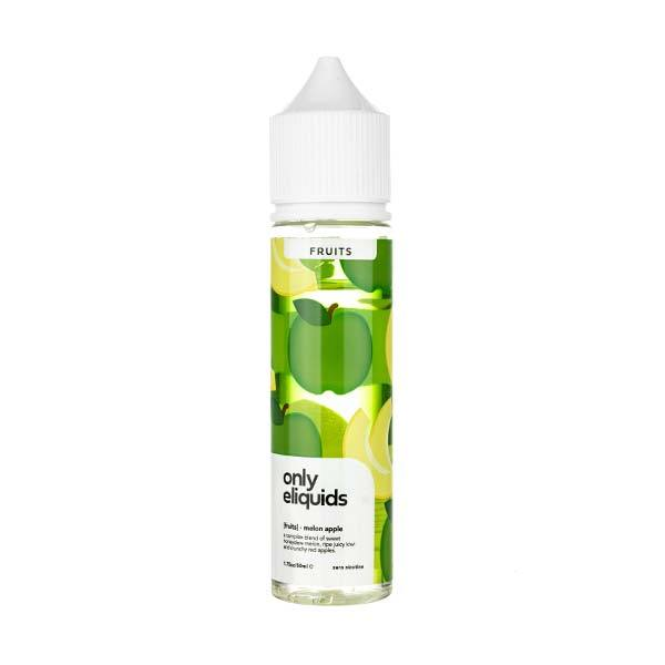 Melon Apple Shortfill E-Liquid by Only eLiquids
