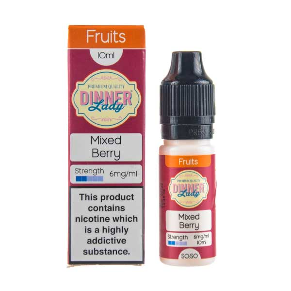 Mixed Berry 50/50 E-Liquid by Dinner Lady