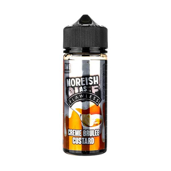 Creme Brulee Shortfill E-Liquid by Moreish Puff