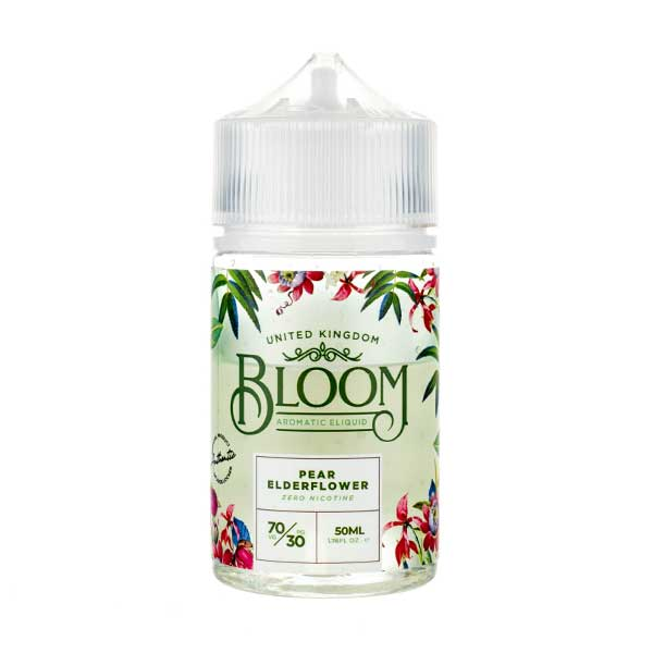 Pear Elderflower Shortfill E-Liquid by Bloom