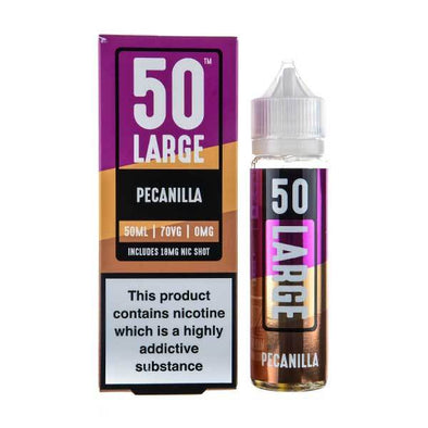 Peanilla Shortfill E-Liquid by 50 Large