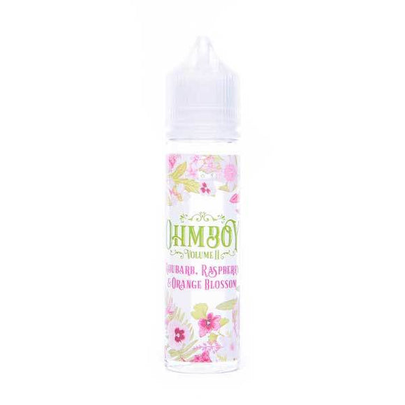 Rhubarb, Raspberry, Orange Blossom Shortfill E-Liquid by Ohm Boy