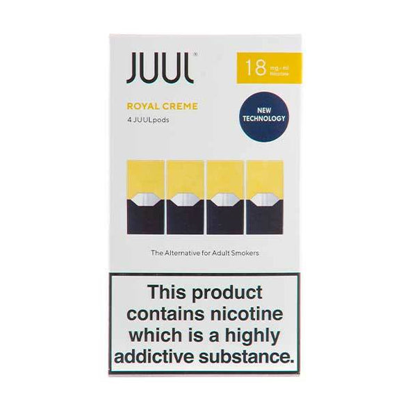 Royal Creme 18mg UK V2 Juul Pods