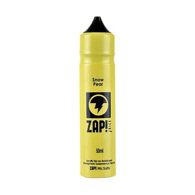 Snow Pear Shortfill E-Liquid by Zap! Juice