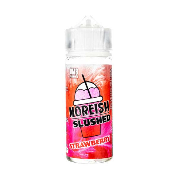 Strawberry Slushed Shortfill E-Liquid by Moreish Puff