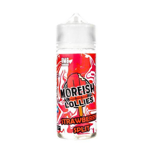 Strawberry Split Lollies Shortfill E-Liquid by Moreish Puff