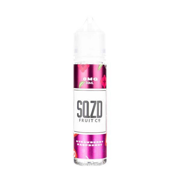 Strawberry Raspberry 50ml Shortfill E-Liquid by SQZD Fruit Co
