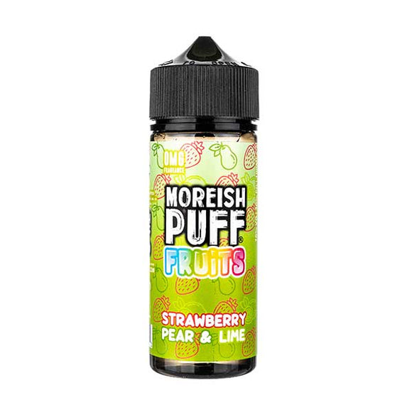 Strawberry, Pear & Lime Shortfill E-Liquid by Moreish Puff