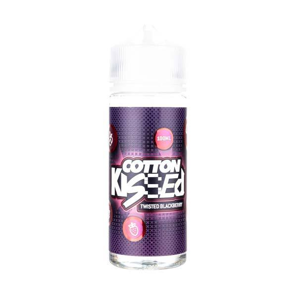 Twisted Blackberry 100ml Shortfill E-Liquid by Cotton Kissed