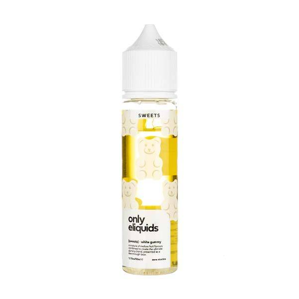 White Gummy Shortfill E-Liquid by Only eLiquids
