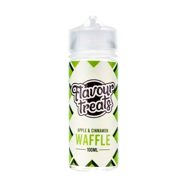 Apple & Cinnamon Waffle 100ml Shortfill E-Liquid by Flavour Treats