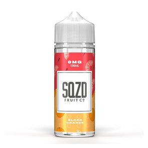 Blood Orange 100ml Shortfill E-Liquid by SQZD Fruit Co