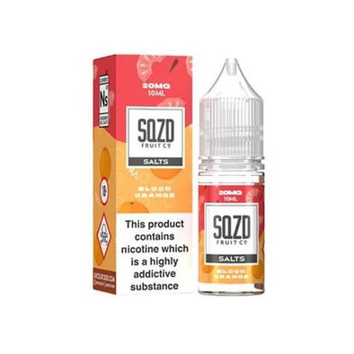 Blood Orange Nic Salt E-Liquid by SQZD Fruit Co