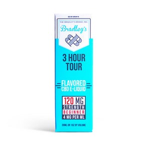 3 Hour Tour CBD E-Liquid by Bradley's CBD
