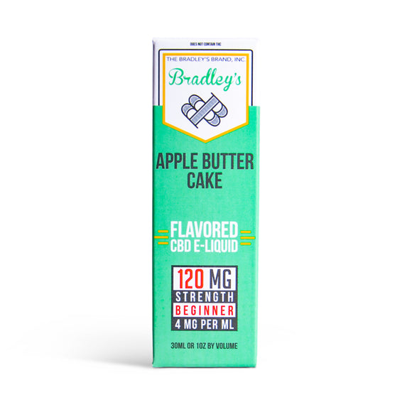 Apple Butter Cake CBD E-Liquid by Bradley's CBD