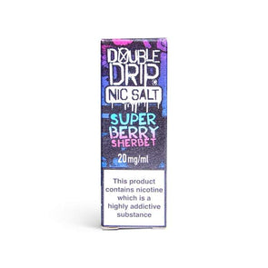 Superberry Sherbet Nic Salt E-Liquid by Double Drip