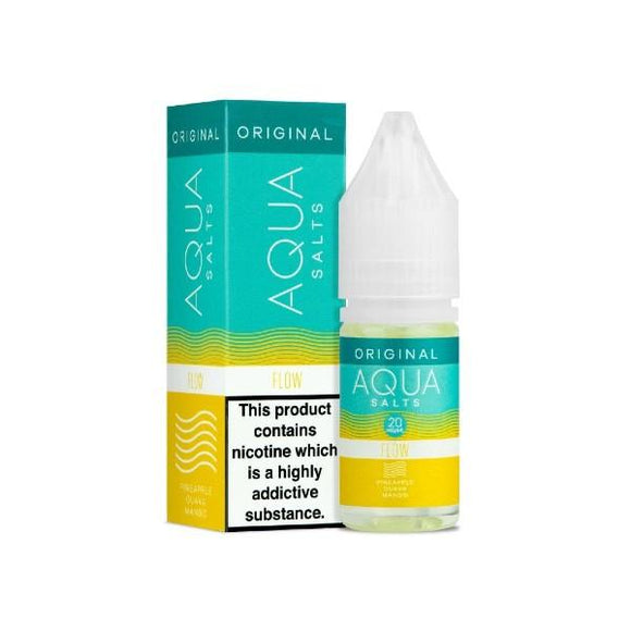Flow Nic Salt E-Liquid by Aqua