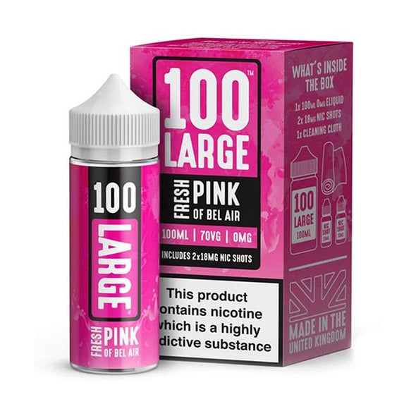Fresh Pink of Bel Air 100ml Short Fill E-Liquid by 100 Large
