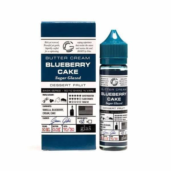 Glas Blueberry Cake 50ml Shortfill E-Liquid