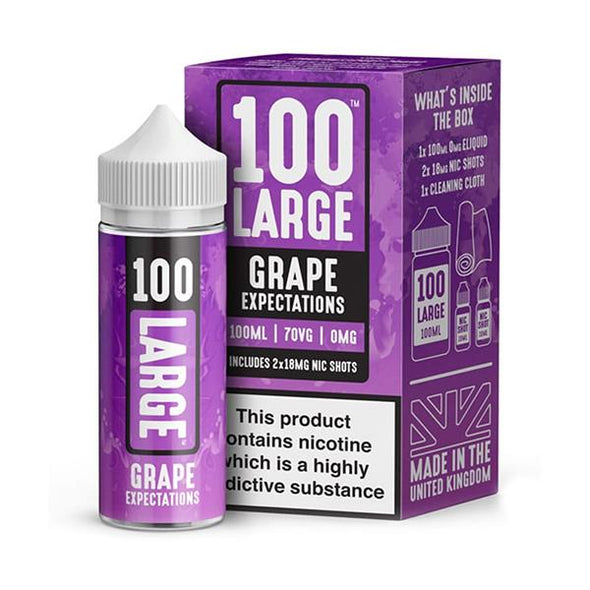Grape Expectations 100ml Short Fill by 100 Large