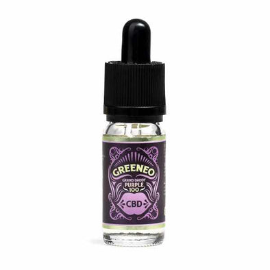 Grand Daddy Purple CBD E-Liquid by Greeneo