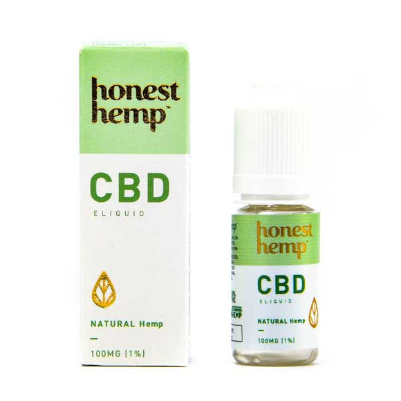 Natural CBD E-Liquid by Honest Hemp