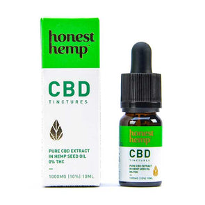 CBD Extract in Hemp Seed Oil by Honest Hemp