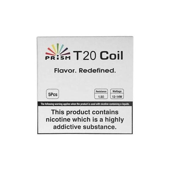 Prism T20 Replacement Coils - Pack of 5 by Innokin
