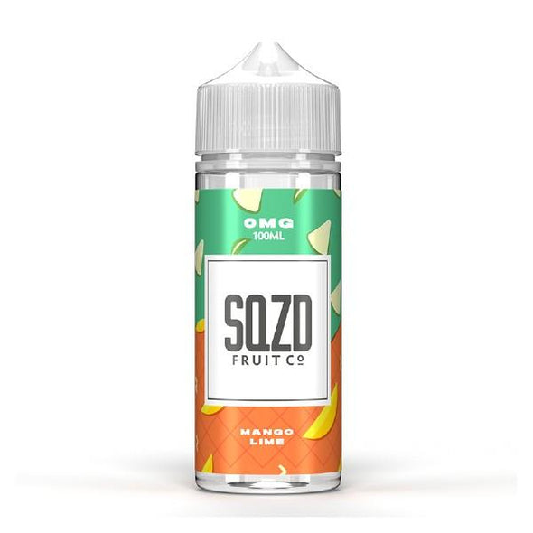 Mango Lime 100ml Shortfill E-Liquid by SQZD Fruit Co