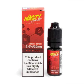 Nasty Salt Bad Blood 10ml E-Liquid Nic Salt