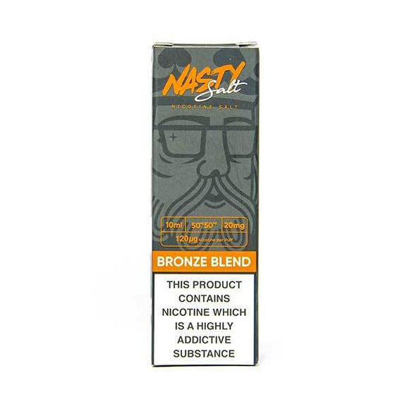 Bronze Blend Nic Salt E-Liquid by Nasty Juice