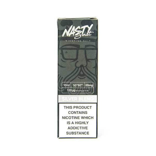 Silver Blend Nic Salt E-Liquid by Nasty Juice