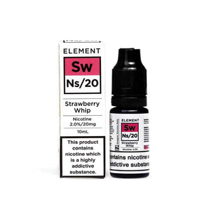 NS20 Element Strawberry Whip E-Liquid