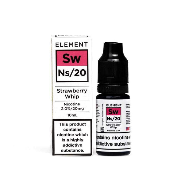 Strawberry Whip E-Liquid by NS20 Element
