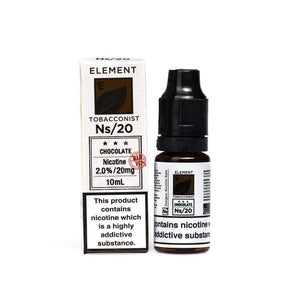 NS20 Element Tobacconist Chocolate Tobacco E-Liquid